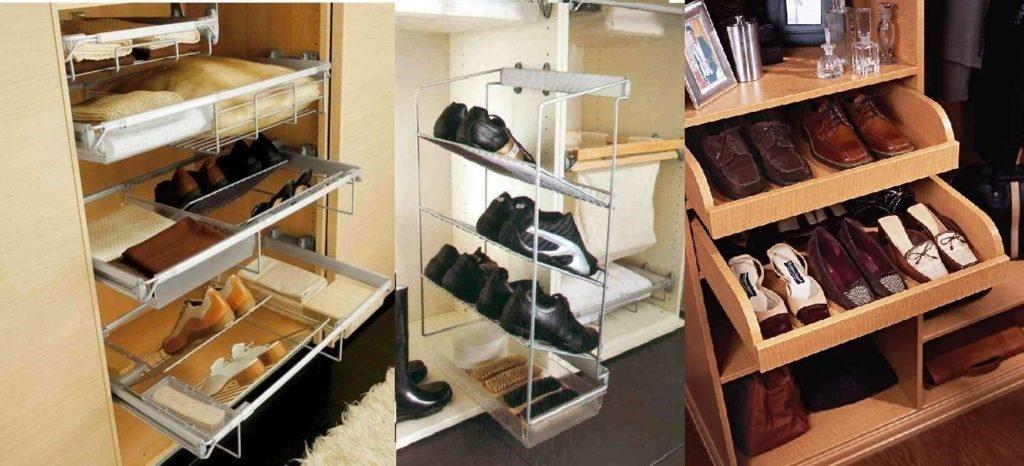 Важно очень тщательно продумать место для обуви