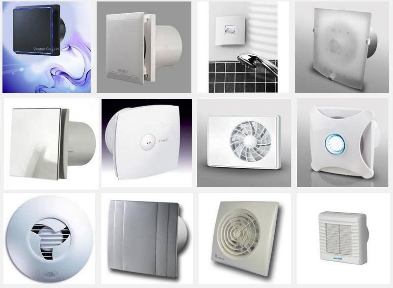 Вентиляторы в ванную комнату