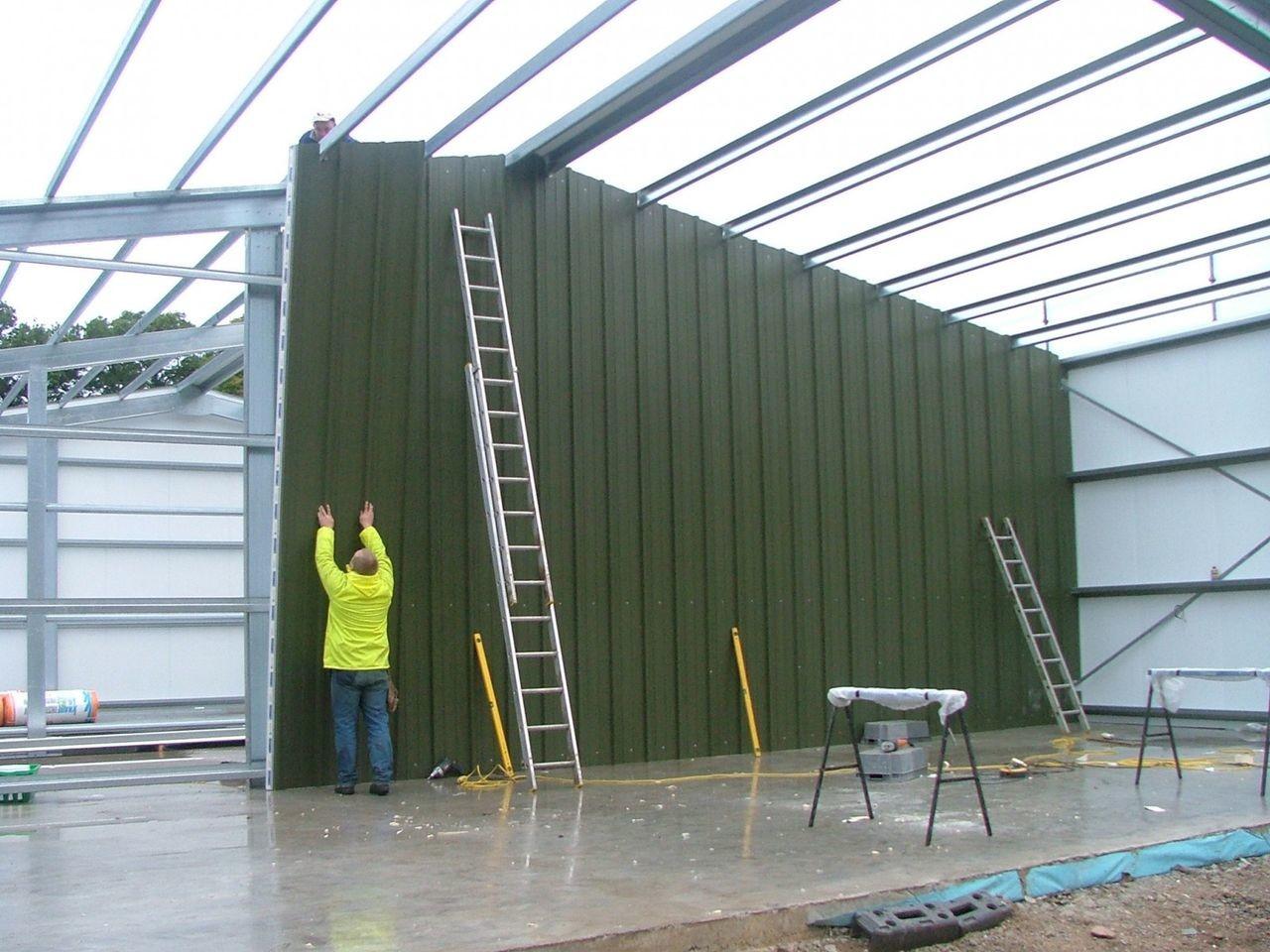 Вертикальная установка панелей