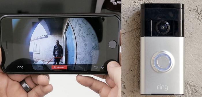 Видеозвонок с передачей изображения на смартфон