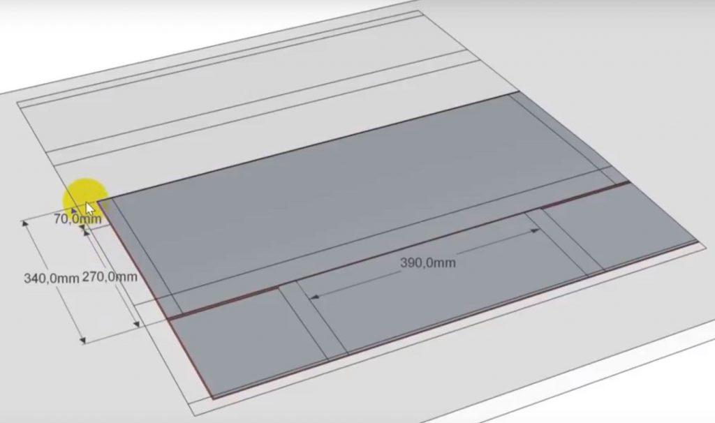 Изготовление верхней части фартука