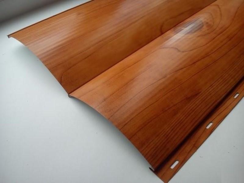 Металлический сайдинг виды стальных и железных фасадных панелей с полимерным покрытием  фото