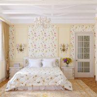 Обои в стиле прованс — для кухни, для спальни, для гостиной