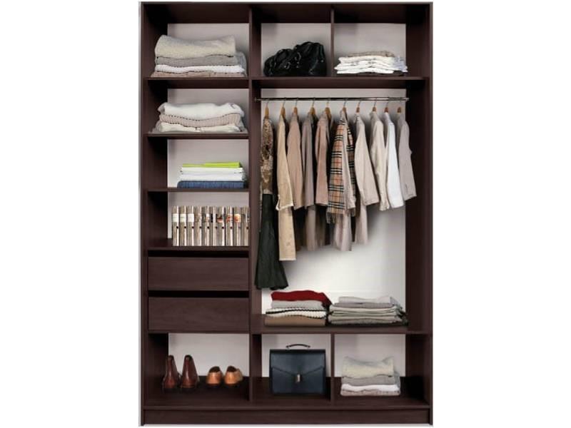 Оптимальный вариант двухдверного шкафа