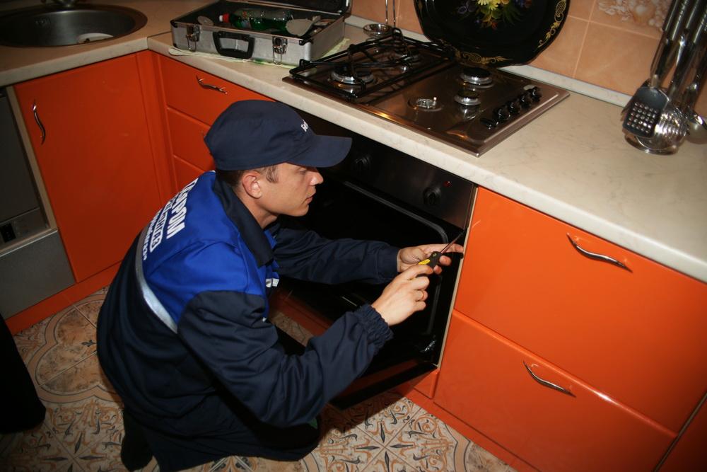 Подключение плиты, встроенной в кухонный гарнитур