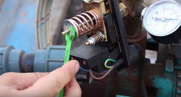 Регулировка давления насосной станции