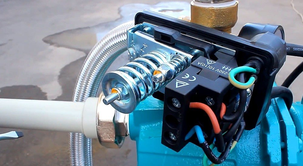 Регулировка реле давления для насоса: настройка   подключение реле к насосу