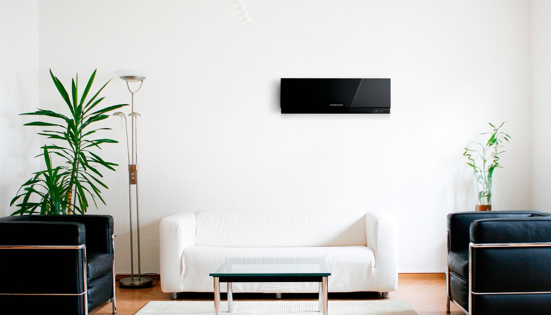 Сплит система – это еще и часть интерьера помещения