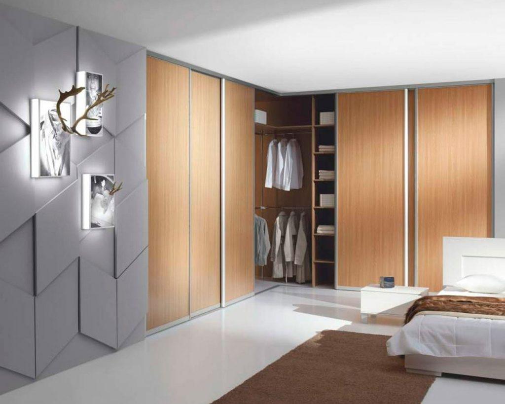 Угловое решение сэкономит пространство в комнате