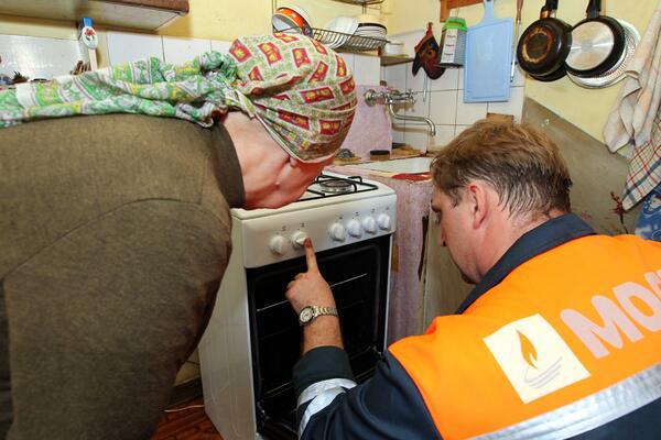 Установка плиты пенсионерам