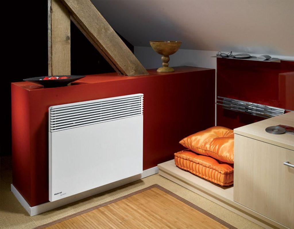 Электрический конвектор отопления настенный