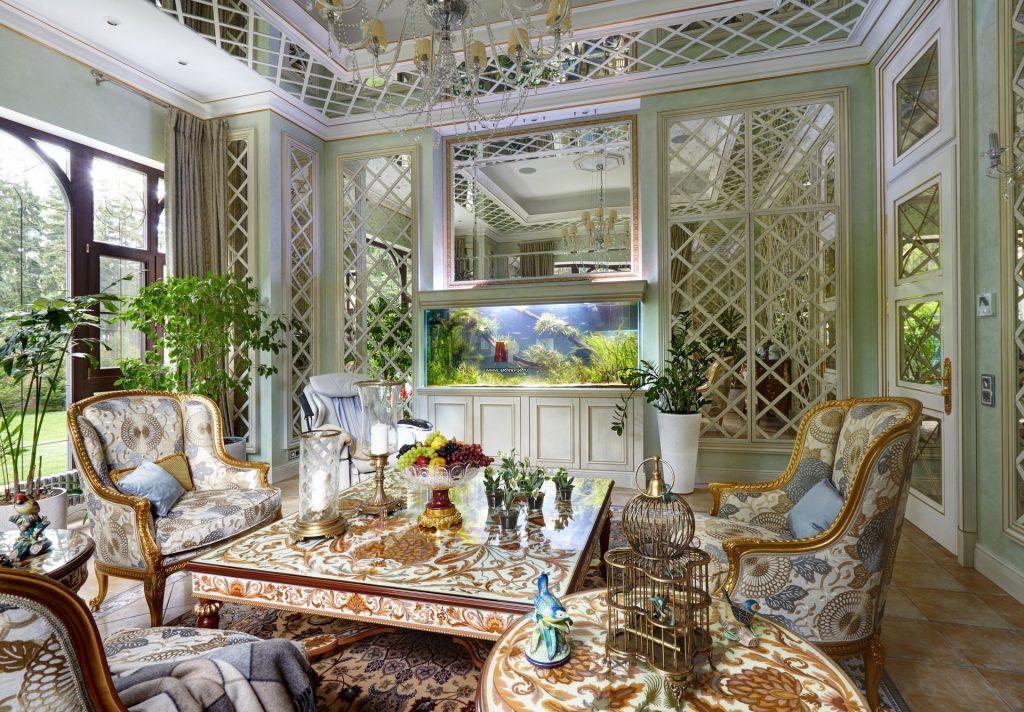 Зимний сад в классическом стиле