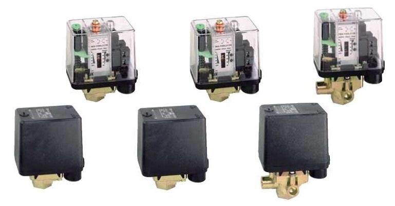 Электромеханические реле давления