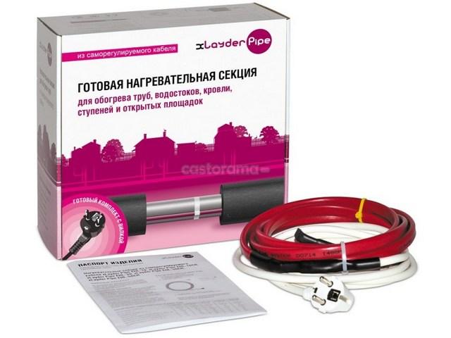 В продаже представлены готовые наборы нагревательных саморегулирующихся кабелей определенной длины.