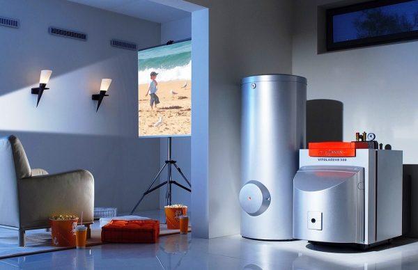 Установить в жилом помещении можно только котлы с закрытой камерой сгорания, не связанной напрямую с комнатой