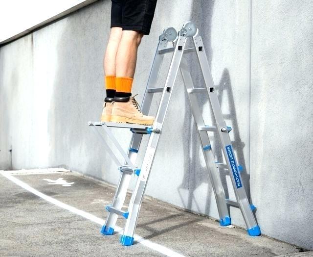 Нагрузка на лестницу-трансформер