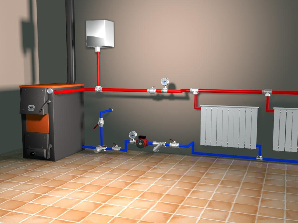 Схема подключения радиаторов отопления в общую отопительную цепь: варианты и пошаговая инструкция!
