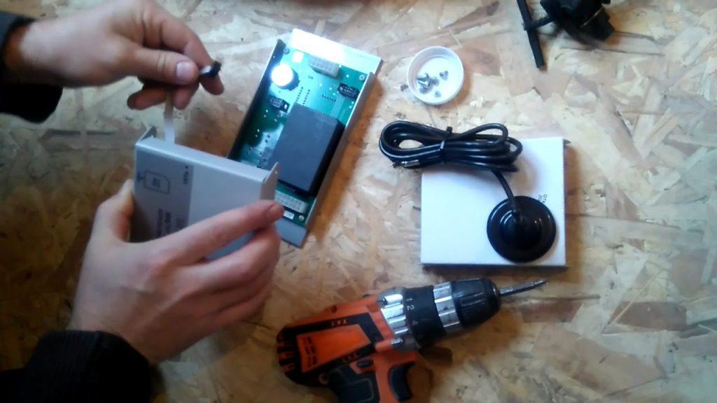 Подключение GSM модуля к котлу