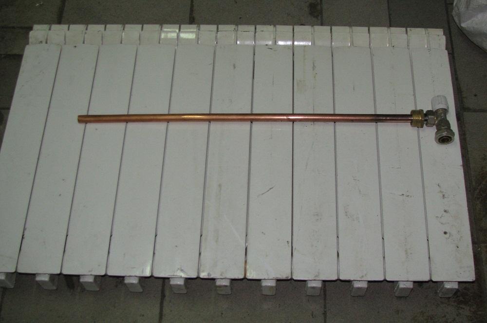 Радиаторная направляющая или удлинитель протока