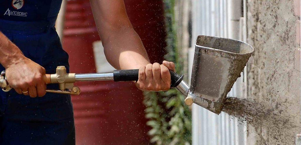 Штукатурный хоппер ковш или штукатурная лопата