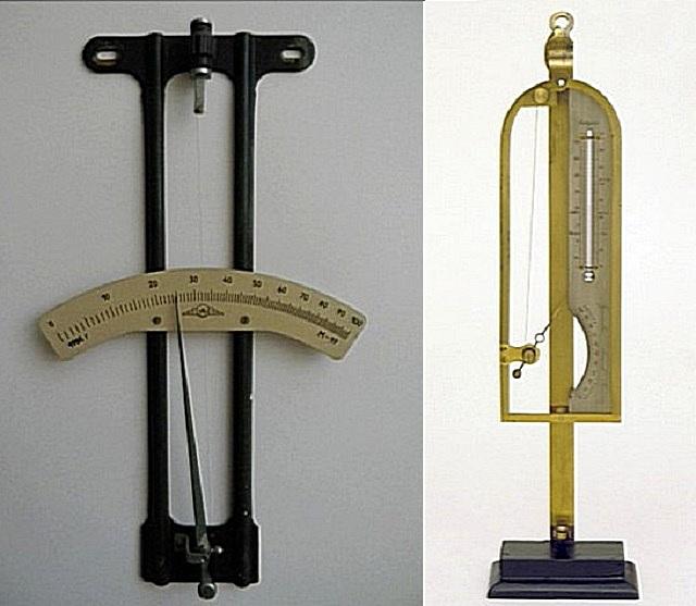 Волосяной гигрометр настенного и настольного типа