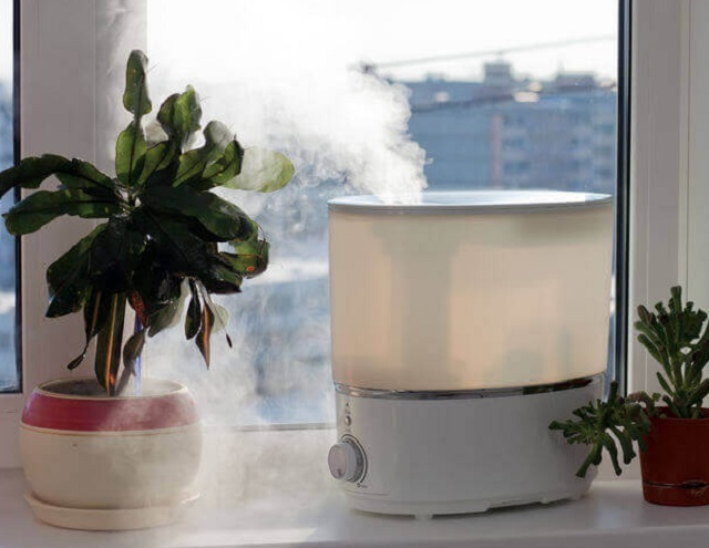 Повысить уровень влажности в воздухе можно разными способами. Один из них — использование парогенератора