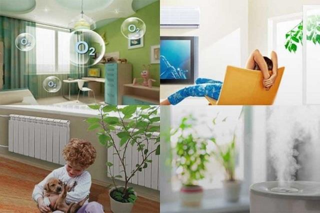 Чтобы поддержать здоровую обстановку в жилых помещениях следует следить за балансом температуры и влажности
