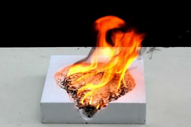 Пенопласт во время пожара становится безжалостным убийцей