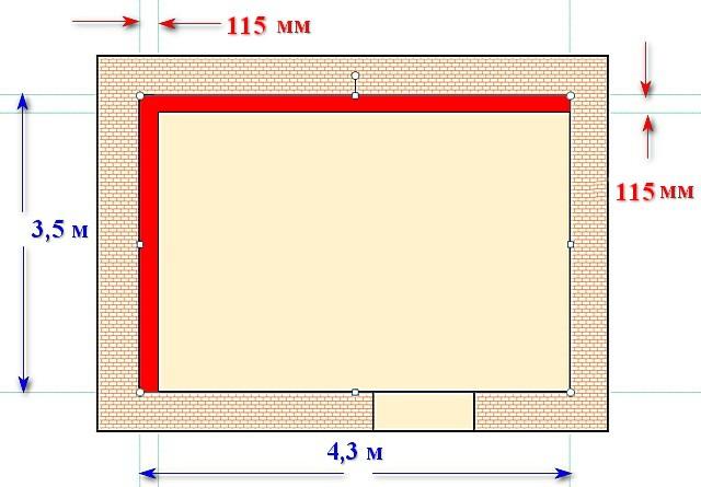 Обязательно прикиньте, какую полезную площадь комнат вы потеряете при утеплении изнутри…