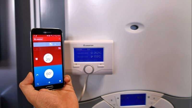 GSM управление котлом отопления возможно при помощи СМС