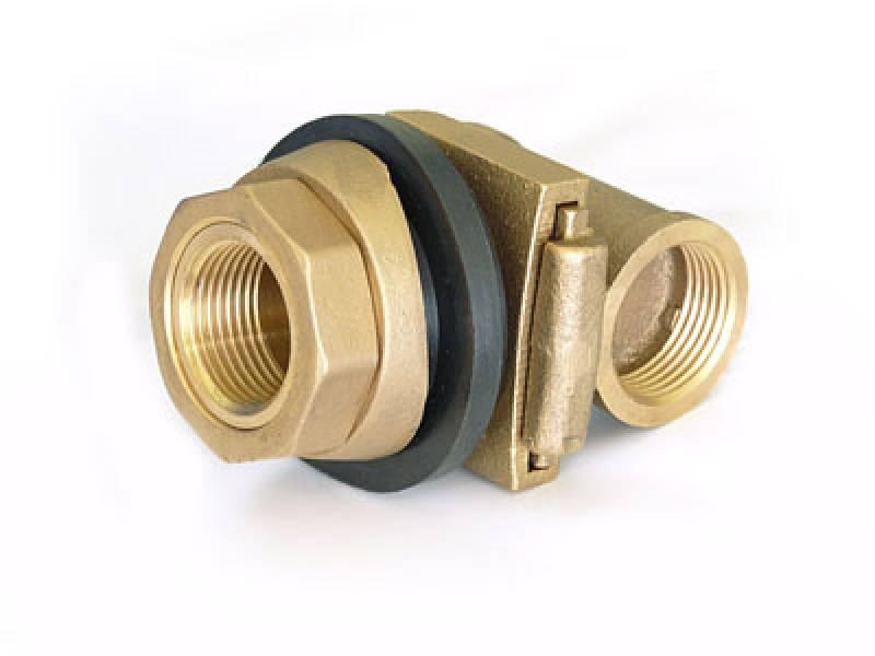 Здесь можно увидеть глухое резьбовое отверстие для монтажа внутренней детали адаптера для скважины