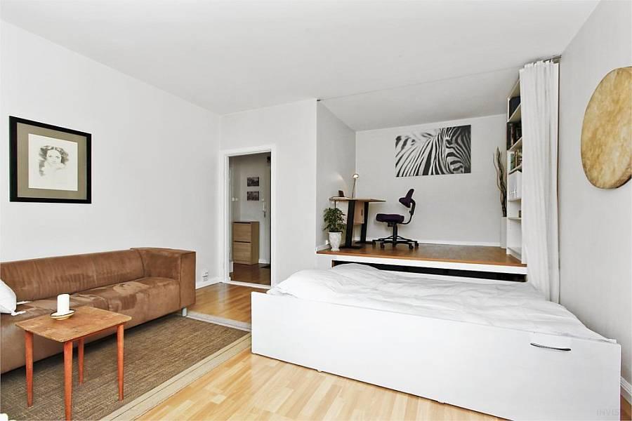 Как создать интересный проект для дизайна однокомнатной квартиры