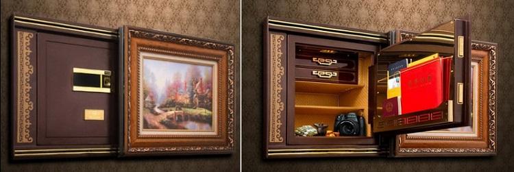 Сейф для дома (квартиры) должен быть компактным, идеально вписываться в общий интерьер комнаты и быть удобным в эксплуатации
