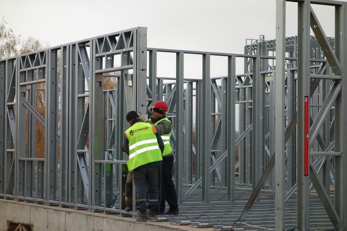 Строительство из ЛСТК возможно в любой сезон
