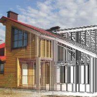 Дом из ЛСТК — строительство дома по новой технологии