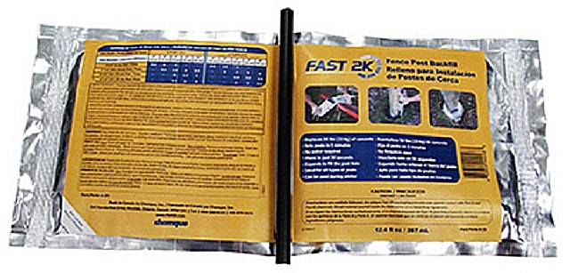 «FAST2k» поступает в продажу в пакетах 1,1 кг, что с лихвой заменит два мешка обычного цемента