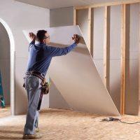 Как сделать стену из гипсокартона — подробная инструкция