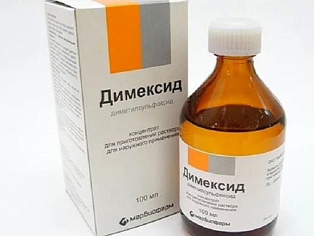 «Димексид» поможет размягчить пену, и ее будет легче вычесать