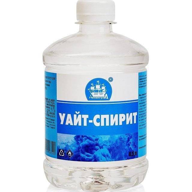Уайт-спирит является одновременно растворителем и очистителем