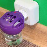 Электрический фумигатор со съемной ёмкостью, в которой содержится ядовитая жидкость