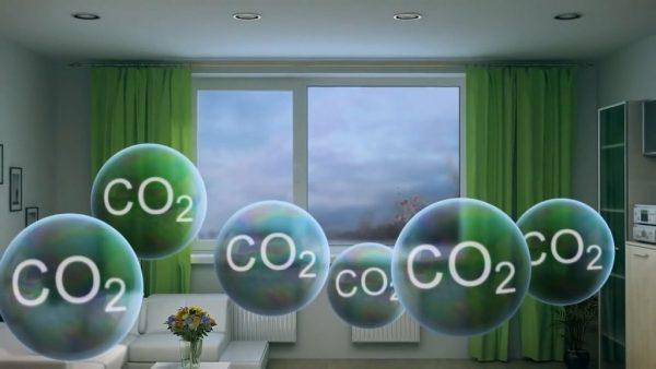 Скопление углекислоты при недостаточной вентиляции вредно для здоровья