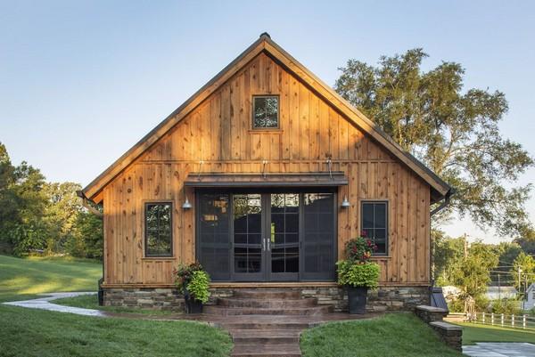 Дом из старого гаража