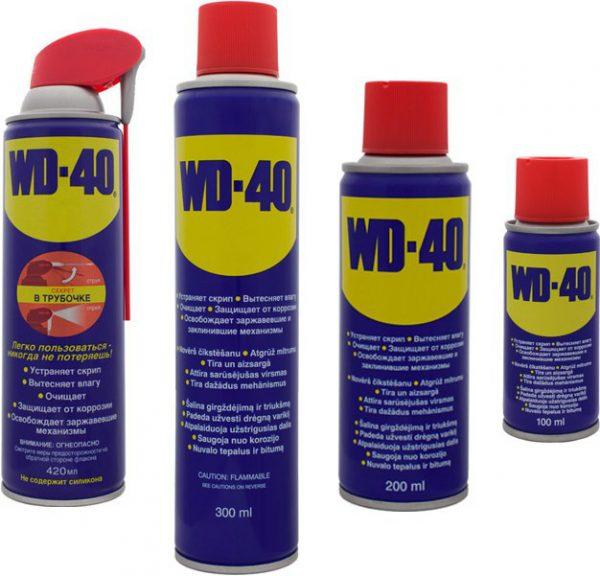 WD-40 поможет открыть кран, который долго не эксплуатировался