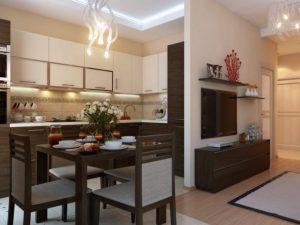 Между кухней и комнатой