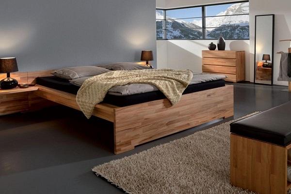 Деревянная мебель является неотъемлемой частью экодома