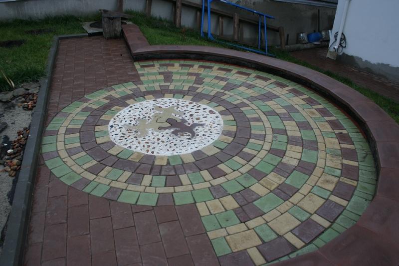 Тротуарная плитка «Римский бук»