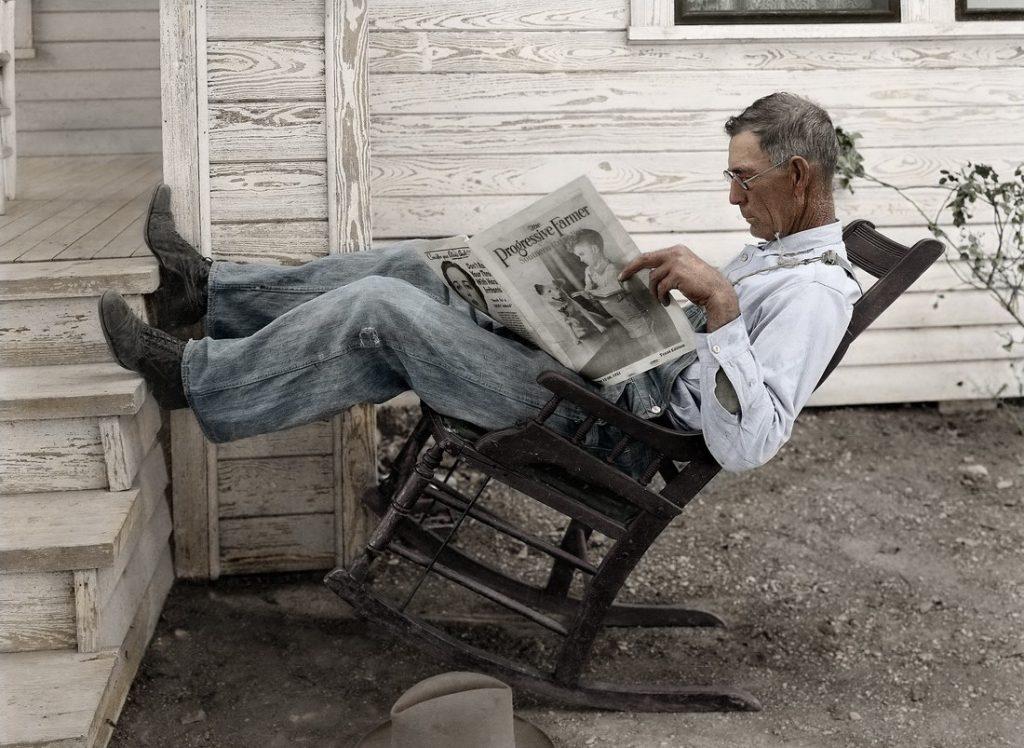 У кресла-качалки есть своя история