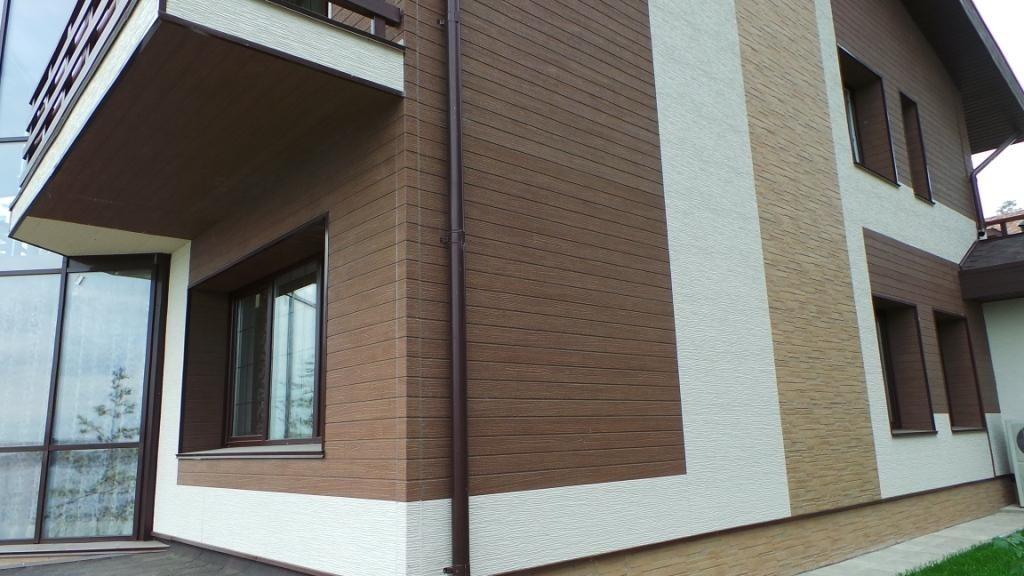 Отделка домов фасадными плитами