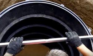 Монтаж колец колодезных – Установка Колец В Колодец: Инструкция По Монтажу Видео