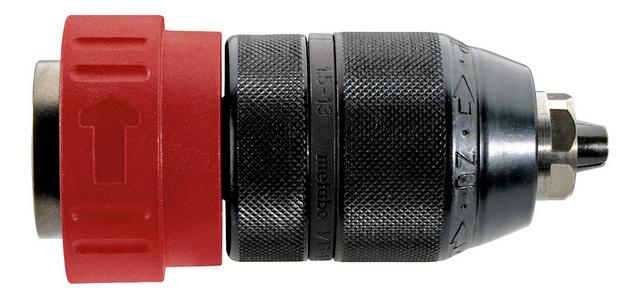 Металлический быстрозажимной патрон – встречается на отбойных молотках, хотя никак не может быть отнесен к надежному варианту для данного случая.